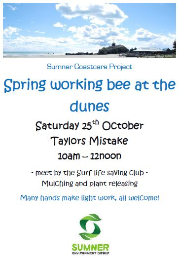 Sumner Coastcare_Working bee_25October